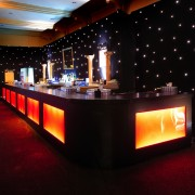 Backlit bar